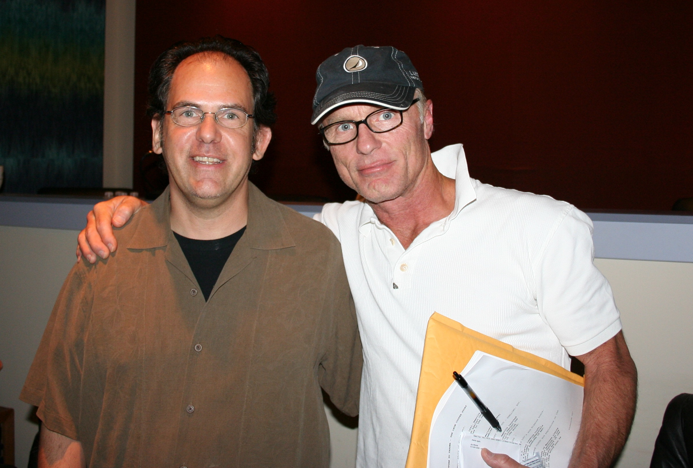 Woody and Ed Harris