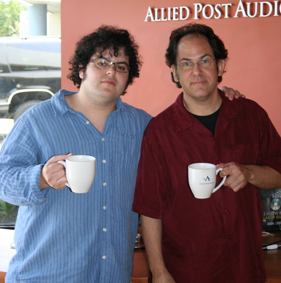 Woody and Josh Gad