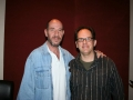 Woody with Miguel Ferrer