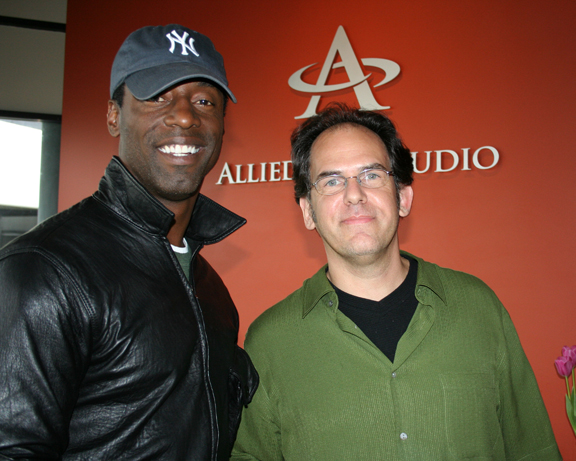 Woody with Isaiah Washington