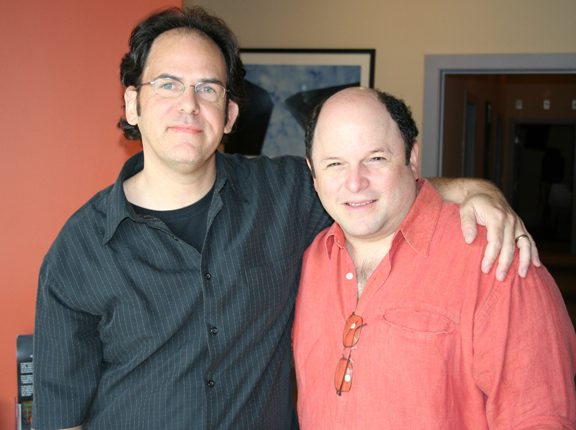 Woody with Jason Alexander