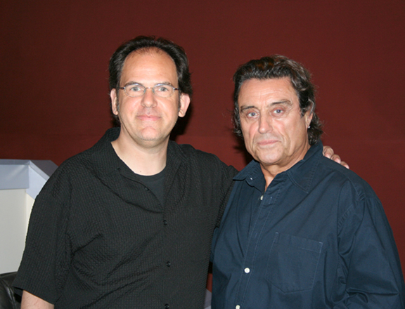 Woody with Ian McShane
